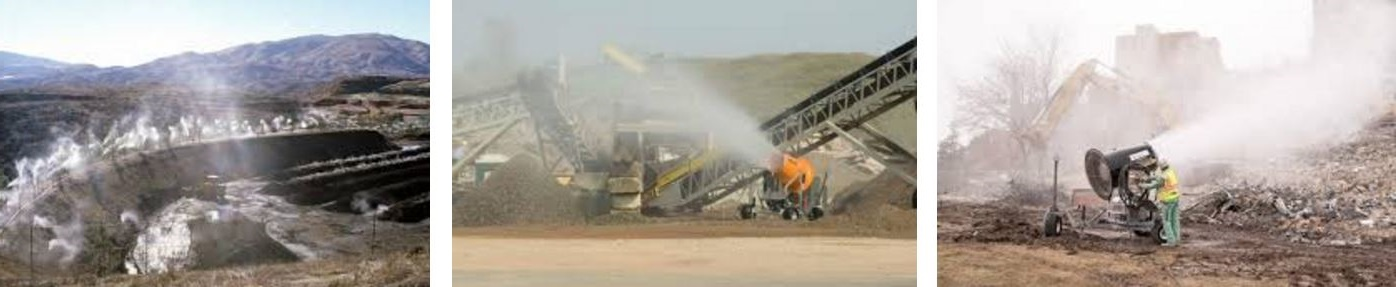dust suppression misting